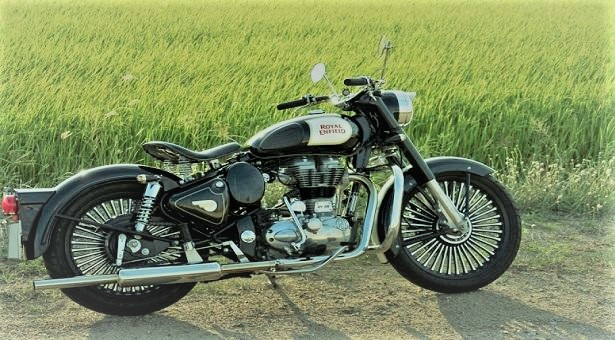 Royal Enfield Motorcycle in Bangladesh