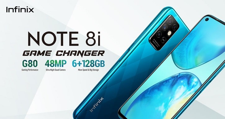 Infinix Note 8i Game Changer. Infinix Note 8i is ahead of all other smartphones in the market for its affordable price and amazing features.