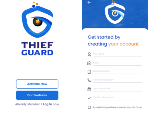 How to Work Thief Guard App 2021
